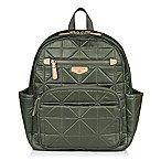 TWELVElittle Companion Backpack Diaper Bag in Olive