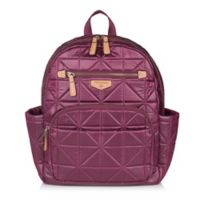 TWELVElittle Companion Backpack Diaper Bag in Wine