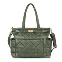 TWELVElittle Carry Love Tote Diaper Bag in Olive