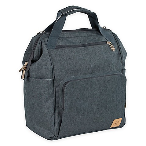 lassig glam goldie backpack diaper bag in grey buybuy baby. Black Bedroom Furniture Sets. Home Design Ideas