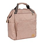 Lassig Glam Goldie Backpack Diaper Bag in Blush