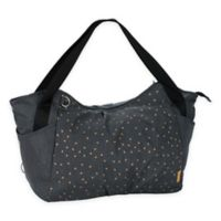 Lassig Casual Twin Diaper Bag in Dark Grey Triangle Print