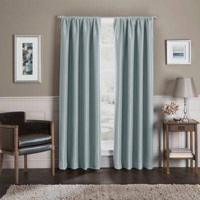 Sebastian 54 Inch Rod Pocket Total Blackout™ Window Curtain Panel In Blue