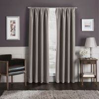 Sebastian 144-Inch Rod Pocket 100% Blackout Window Curtain Panel in Mocha