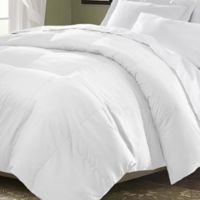 Kathy Ireland Home® by Gorham Microfiber Down Full/Queen Comforter in White