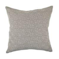 Vesper Lane Urban Sewn Print Square Throw Pillow in Tan