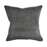 Vesper Lane Matelassé Square Throw Pillow in Grey