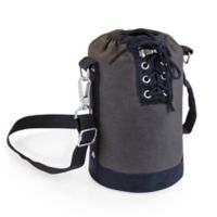 Picnic Time® Insulated Growler Tote in Grey