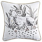 Peri Home Zodiac Square Throw Pillow in Blush
