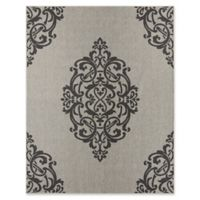 Mohawk Home Oasis Paloma 5-Foot 3-Inch x 7-Foot 6-Inch Area Rug in Onyx