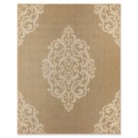 Mohawk Home Oasis Paloma 5-Foot 3-Inch x 7-Foot 6-Inch Area Rug in Natural
