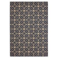 Mohawk Home Oasis Rockport 5-Foot 3-Inch x 7-Foot 6-Inch Area Rug in Navy