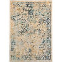 Surya Giltner 5-Foot 3-Inch x 7-Foot 6-Inch Accent Rug in Teal