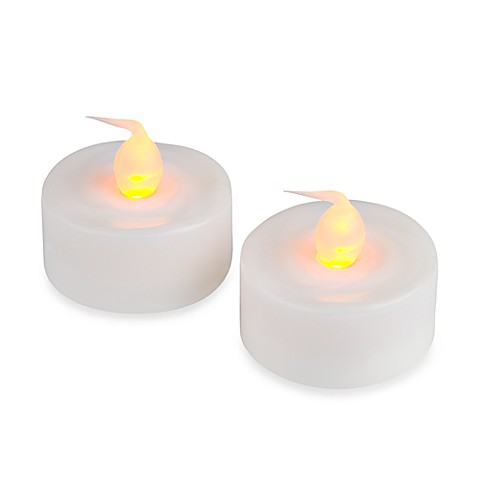 Everlasting Candles Electronic Tealights (Set of 2)