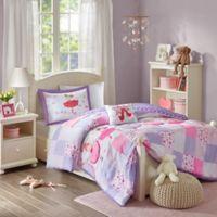 Mi Zone Kids Twirling Tutu 3-Piece Twin Comforter Set in Purple
