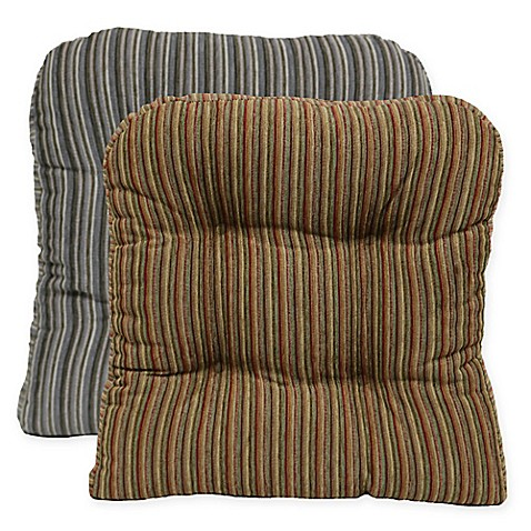 Huntington Non Skid Chair Pad Set Of 2 Bed Bath Amp Beyond