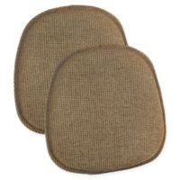 Klear Vu Gripper® Tonic Bistro Chair Pads in Gold (Set of 2)