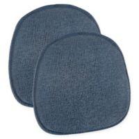 Klear Vu Gripper® Tonic Bistro Chair Pads in Blue (Set of 2)