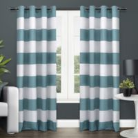Exclusive Home Surfside 84-Inch Grommet Top Window Curtain Panel Pair in Indigo