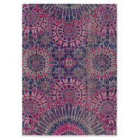 Style Statements by Surya Halwood 5-Foot 3-Inch x 7-Foot 3-Inch Area Rug in Fuchsia