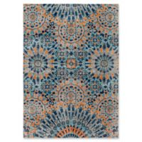 Style Statements by Surya Halwood 5-Foot 3-Inch x 7-Foot 3-Inch Area Rug in Orange