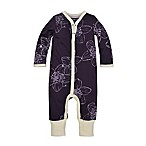 Burt's Bees® Newborn Blackberry Floral Print Coverall in Purple