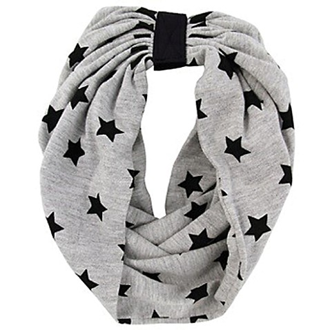 Rising Star™ Infant/Toddler Stars Infinity Scarf in Grey