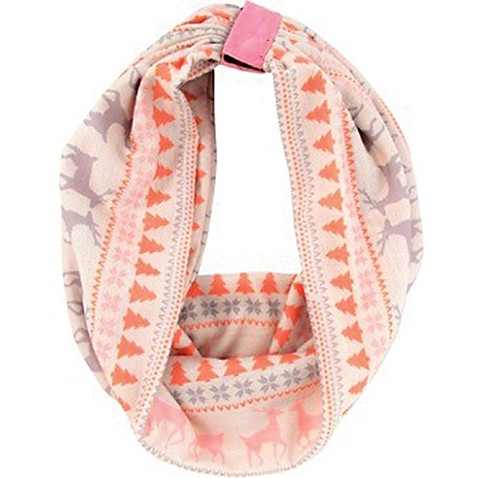 Rising Star™ Infant/Toddler Fair Isle Infinity Scarf - buybuy BABY