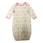Sterling Baby Pink Medallion Print One Size Gown in Ivory