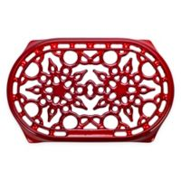 Le Creuset® Deluxe 10.5-Inch Oval Trivet in Cerise