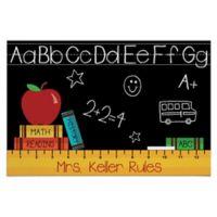 """""""Teacher Rules"""" Door Mat"""