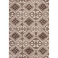 KAS Carmen Boho Chic 2-Foot 7-Inch x 4-Foot 11-Inch Accent Rug in Taupe
