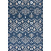 KAS Carmen Journey 2-Foot 7-Inch x 4-Foot 11-Inch Accent Rug in Denim