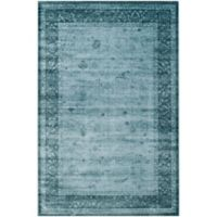 Safavieh Vintage Shannon 4-Foot 5-Inch x 7-Foot Area Rug in Light Blue