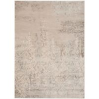 Safavieh Vintage Florence 4-Foot x 5-Foot 7-Inch Area Rug in Grey/Ivory