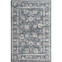 Safavieh Vintage Elayna 5-Foot 1-Inch x 7-Foot 7-Inch Area Rug in Dark Grey/Cream