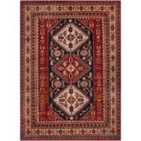 Surya Uthaca Classic Diamond 6-Foot 7-Inch 9-Foot 6-Inch Area Rug in Dark Red