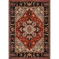 Surya Uthaca Classic 6-Foot 7-Inch x 9-Foot 6-Inch Area Rug in Dark Red/Black