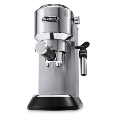 dedica deluxe espresso machine in stainless steel