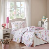 Mi Zone Kids Bonjour Full Comforter Set in Pink
