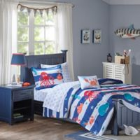 Mi Zone Kids Sealife 6-Piece Twin Comforter Set in Blue