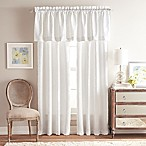 Gracie 84-Inch Rod Pocket Window Curtain Panel Pair in White