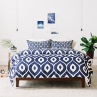 Deny Designs Aimee St Hill Leela Twin Duvet Cover in Navy