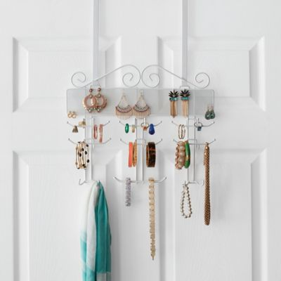 Exceptionnel Over The Door Jewelry Organizer