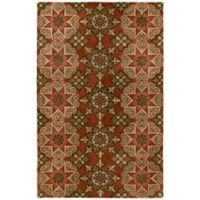 Kaleen Mystic-Papal 9-Foot 6-Inch x 13-Foot Area Rug in Salsa