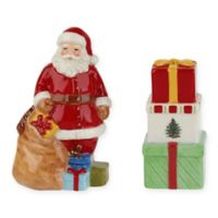 Spode® Christmas Tree Santa and Gift Boxes Salt and Pepper Set