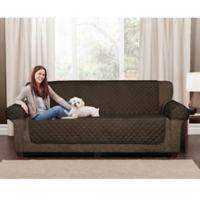 Maytex Waterproof Suede Pet Sofa Cover in Chocolate a6fdca65c2