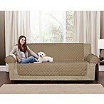 Maytex Waterproof Suede Pet Sofa Cover in Tan