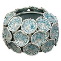 Jamie Young Reef Floral Bowl in Blue