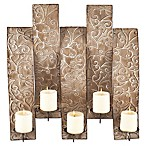 Southern Enterprises Clarissa Wall-Mount Candelabra in Silver